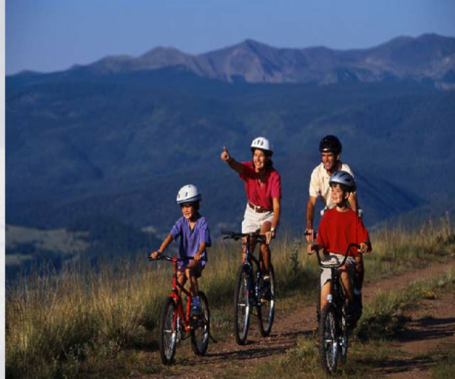 Family Biking in Mammoth